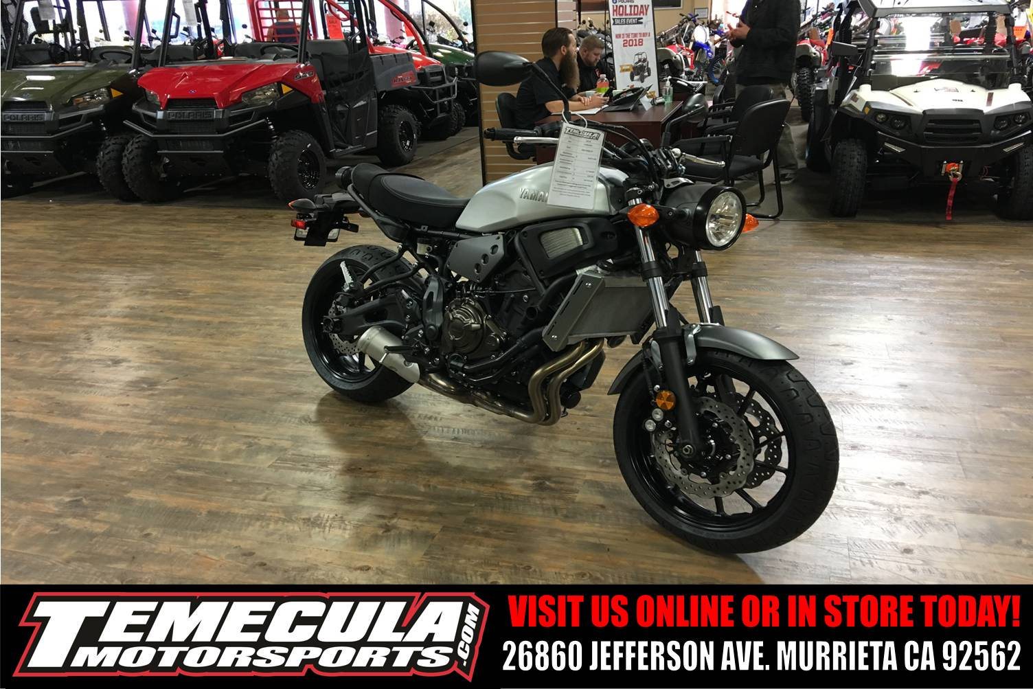 2018 Yamaha XSR700 in Murrieta, California