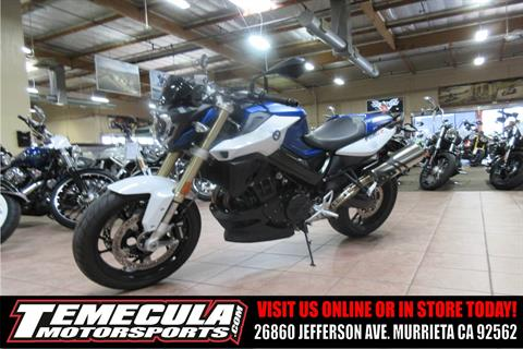 2016 BMW F 800 R in Murrieta, California