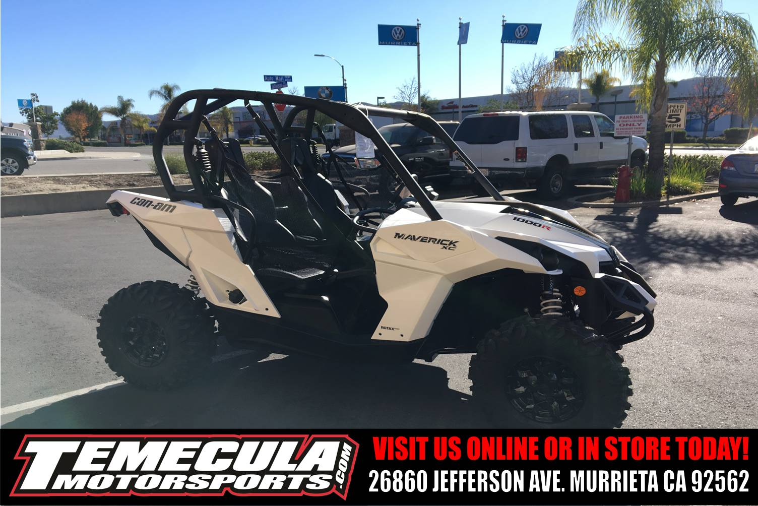 2018 Can-Am Maverick XC in Murrieta, California