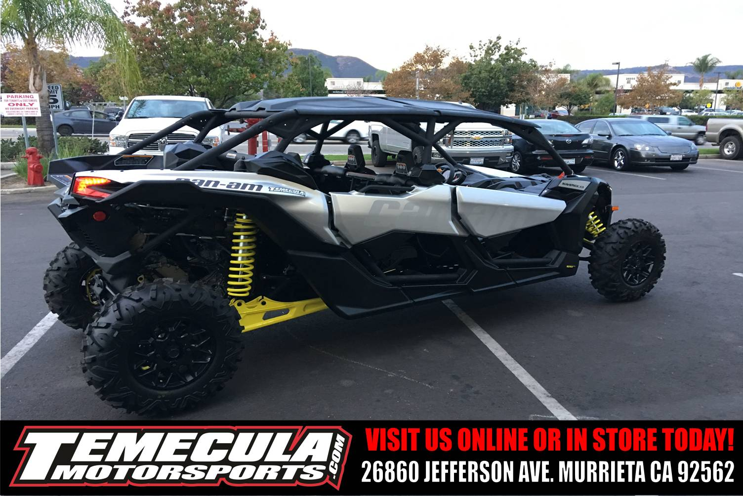 2018 Can-Am Maverick X3 Max Turbo in Murrieta, California