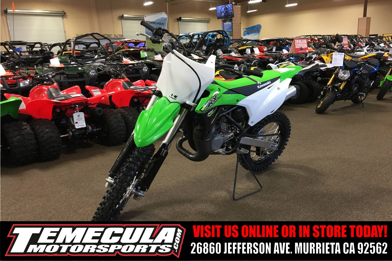 2018 Kawasaki KX 100 in Murrieta, California