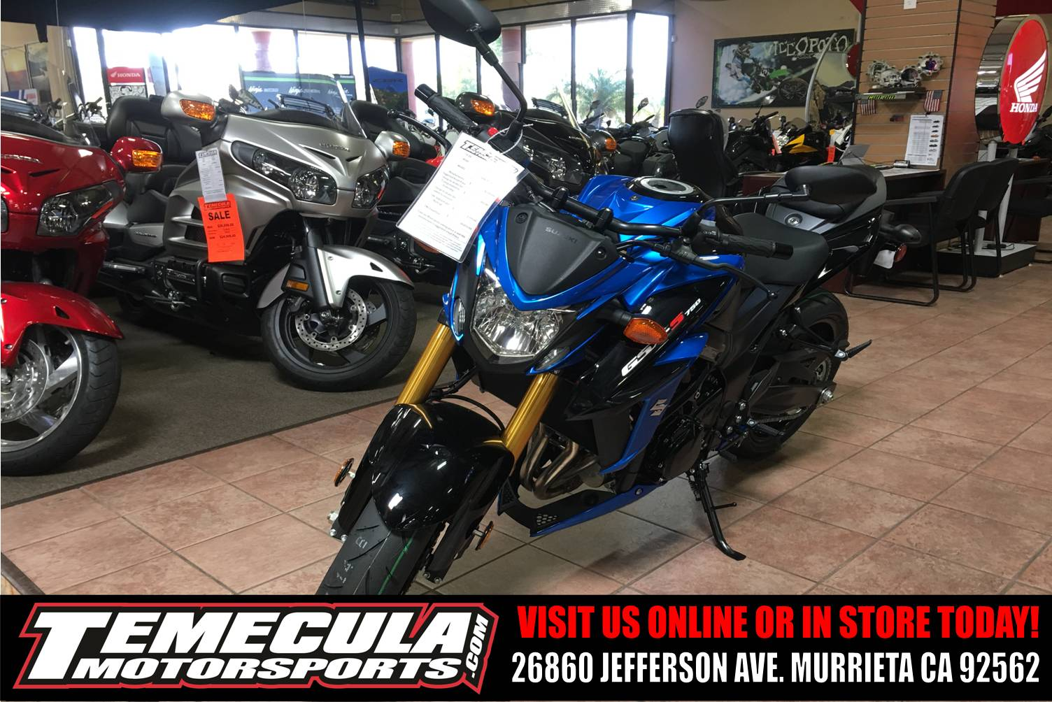 2018 Suzuki GSX-S750 in Murrieta, California