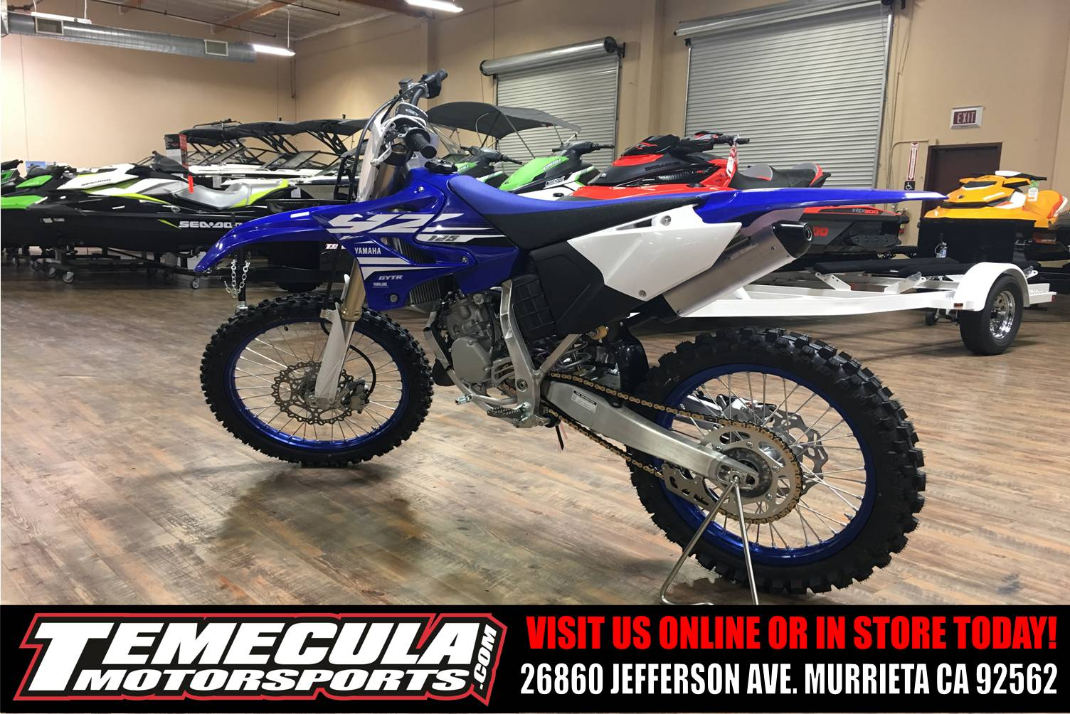 2018 Yamaha YZ125 in Murrieta, California