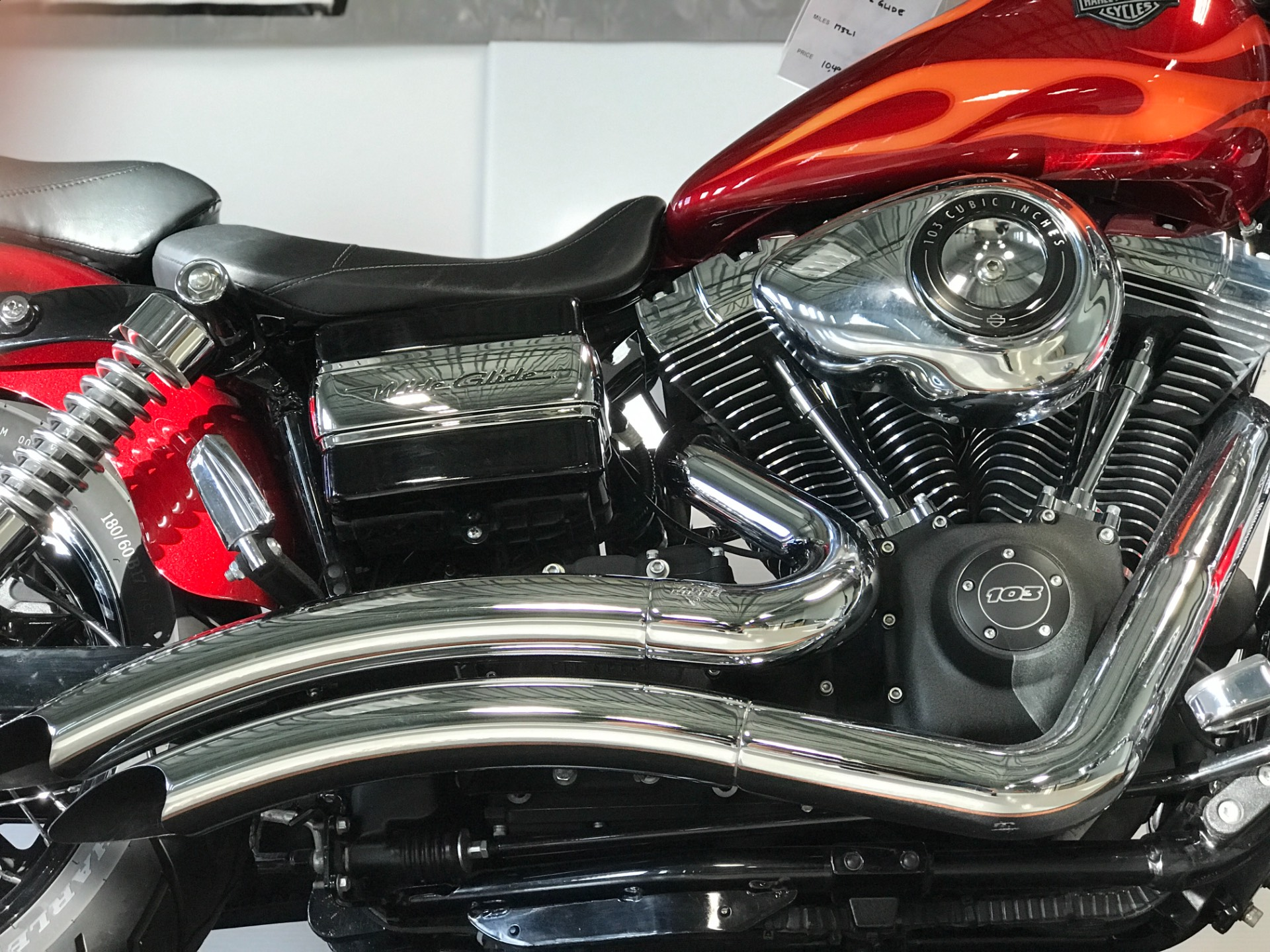 2012 Harley-Davidson Wide Glide in Waterford, Michigan