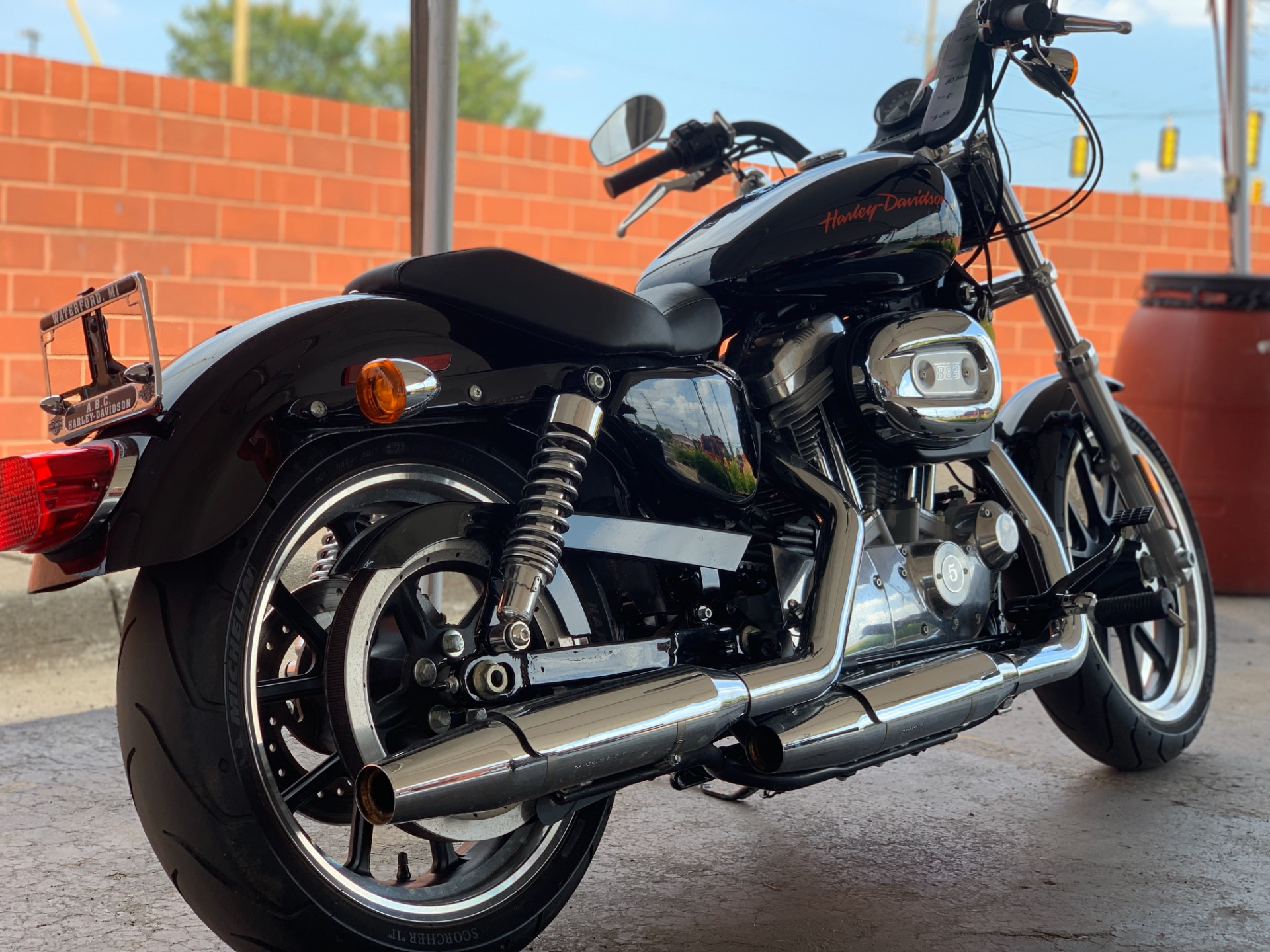 2014 Harley-Davidson XL883L in Waterford, Michigan - Photo 3