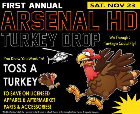 1st Annual Arsenal Turkey Drop