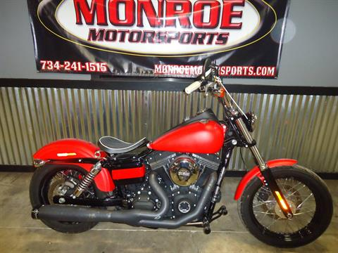 2015 Harley-Davidson Street Bob® in Monroe, Michigan