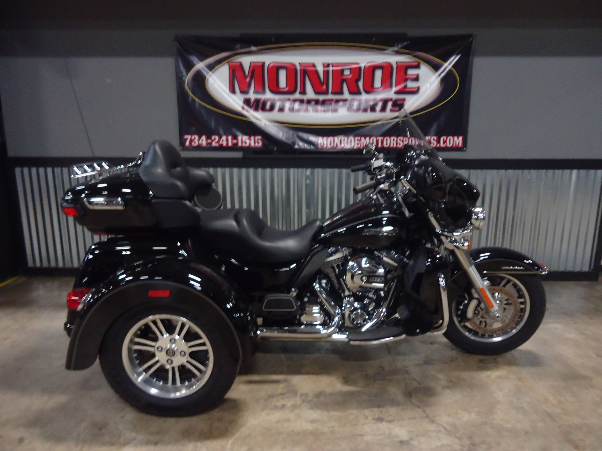 2015 Harley-Davidson Tri Glide&#174 Ultra in Monroe, Michigan