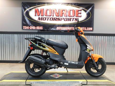 2018 Kymco Agility 50 in Monroe, Michigan