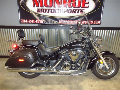 2014 Yamaha V Star 1300 Tourer in Monroe, Michigan