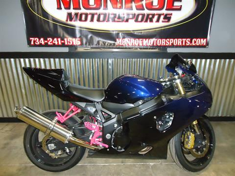 2005 Suzuki GSX-R600 in Monroe, Michigan