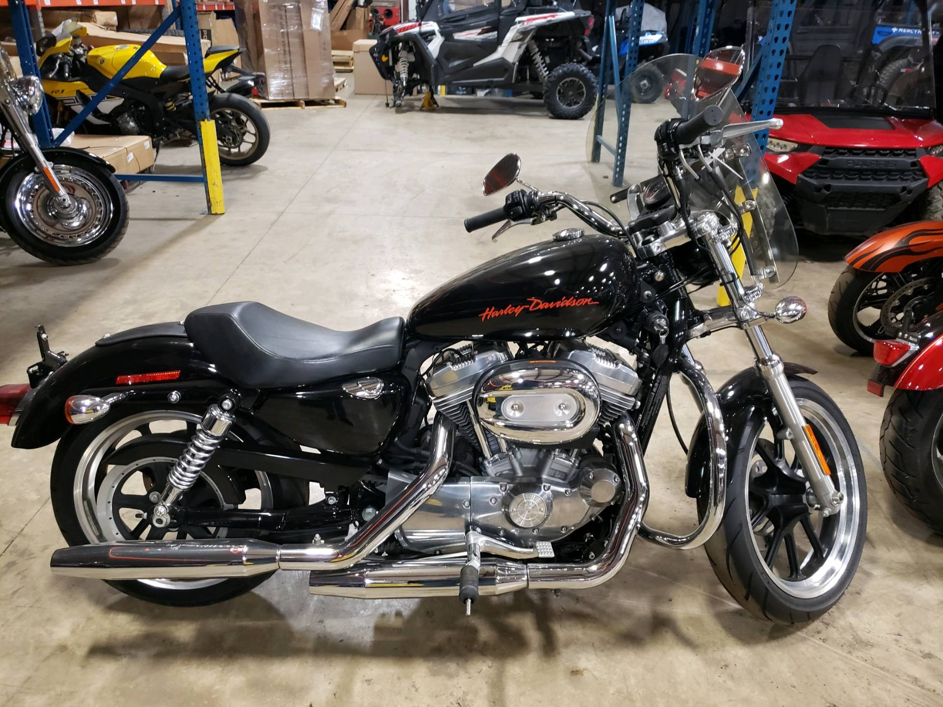 Harley Davidson Michigan >> 2012 Harley Davidson Sportster 883 Superlow In Monroe Michigan