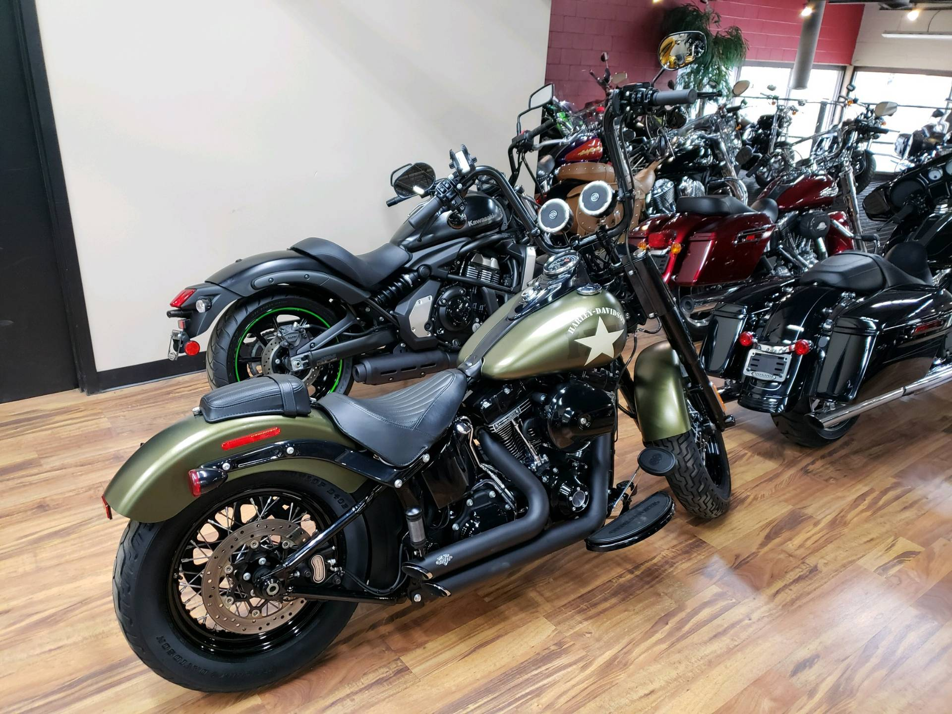 Harley Softail Slim >> 2016 Harley Davidson Softail Slim S In Monroe Michigan