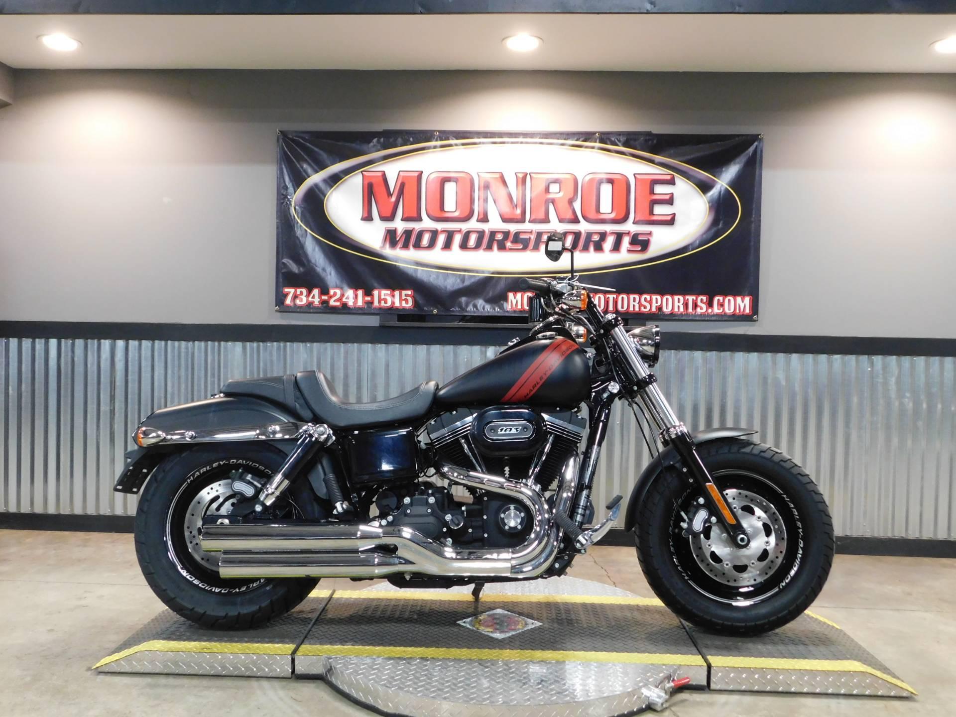 2016 Harley Davidson Fat Bob In Monroe Michigan Photo 1