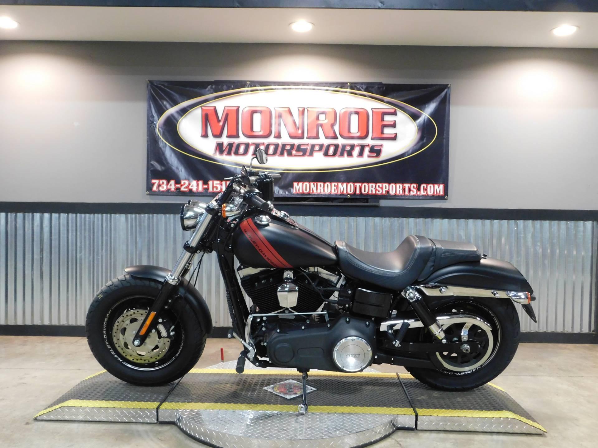 2016 Harley Davidson Fat Bob In Monroe Michigan