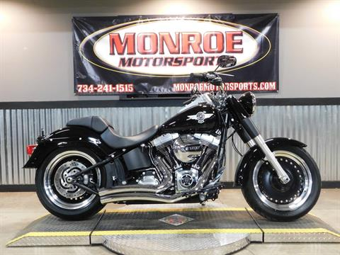 2016 Harley-Davidson Fat Boy® Lo in Monroe, Michigan - Photo 1