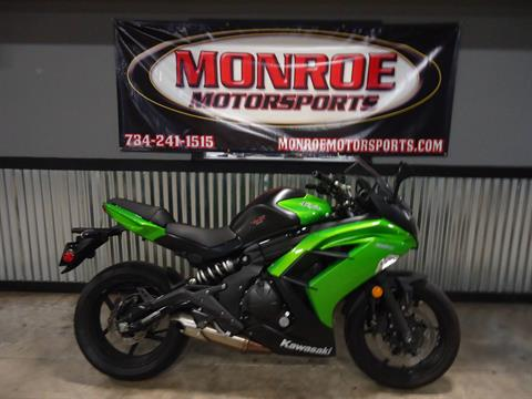 2014 Kawasaki Ninja® 650 ABS in Monroe, Michigan