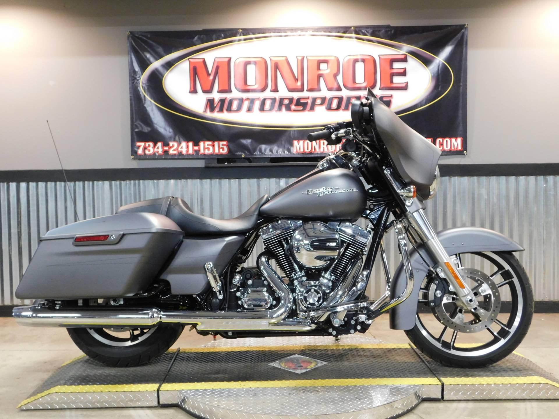 2016 Harley Davidson Street Glide Special In Monroe Michigan