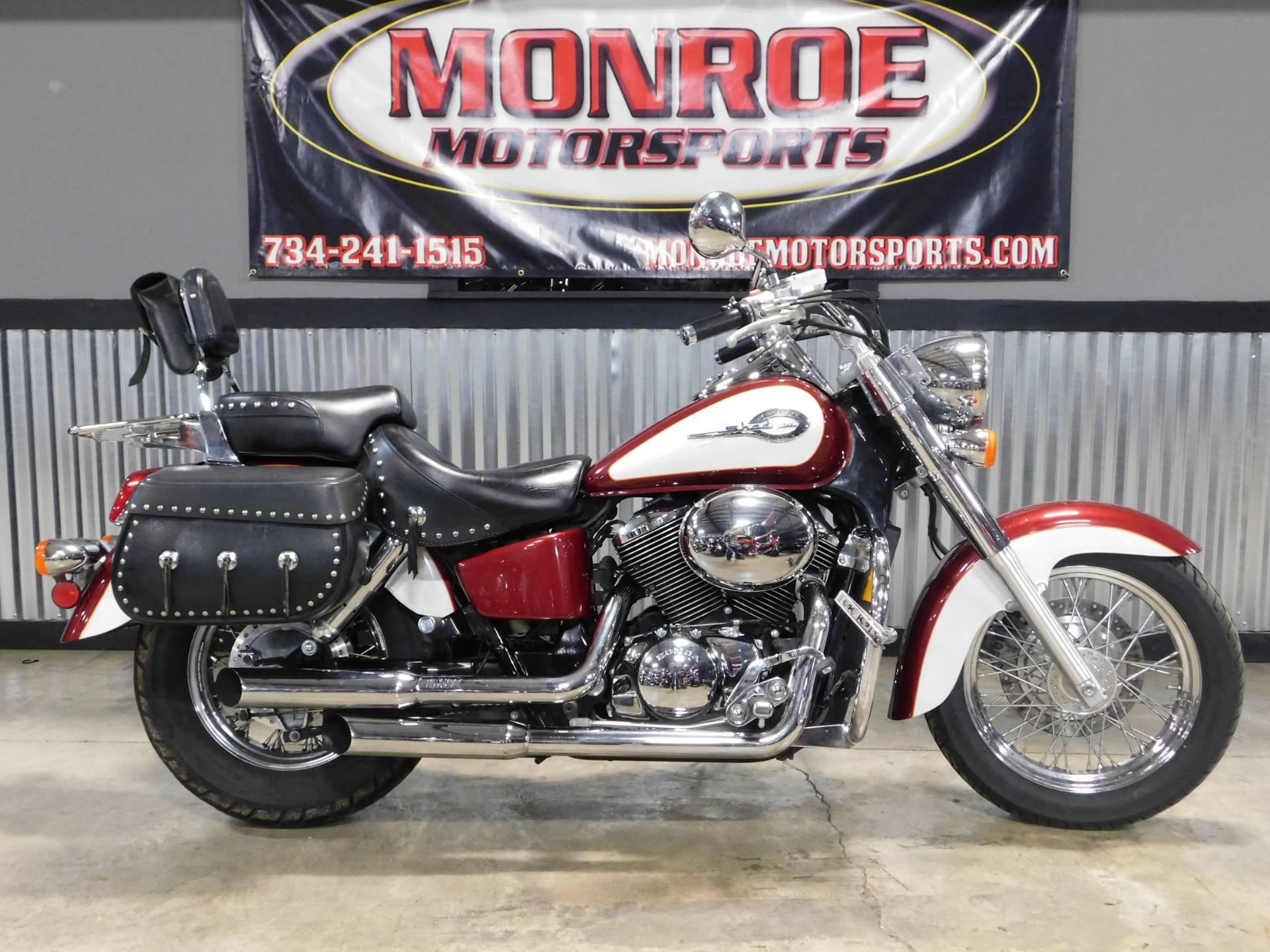 2001 Honda Shadow Aero Motorcycles Monroe Michigan HM504615