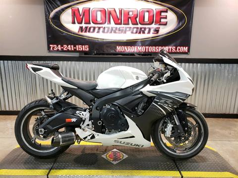 2011 Suzuki GSX-R600™ in Monroe, Michigan