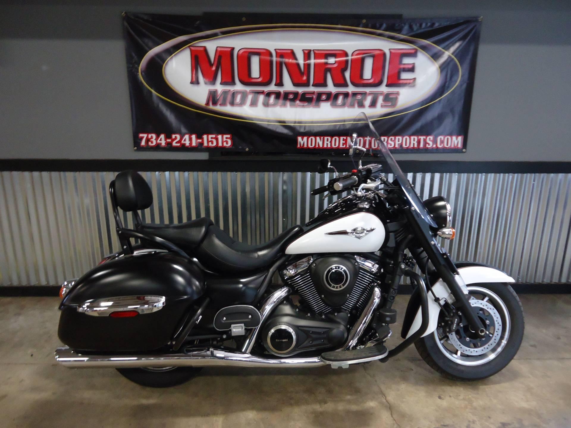 2014 Kawasaki Vulcan® 1700 Nomad™ ABS Motorcycles Monroe Michigan ...