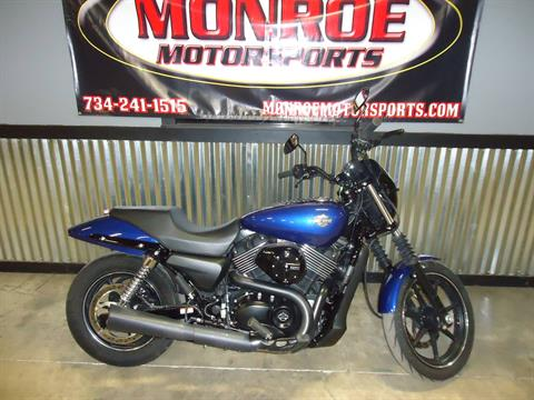 2016 Harley-Davidson Street® 750 in Monroe, Michigan