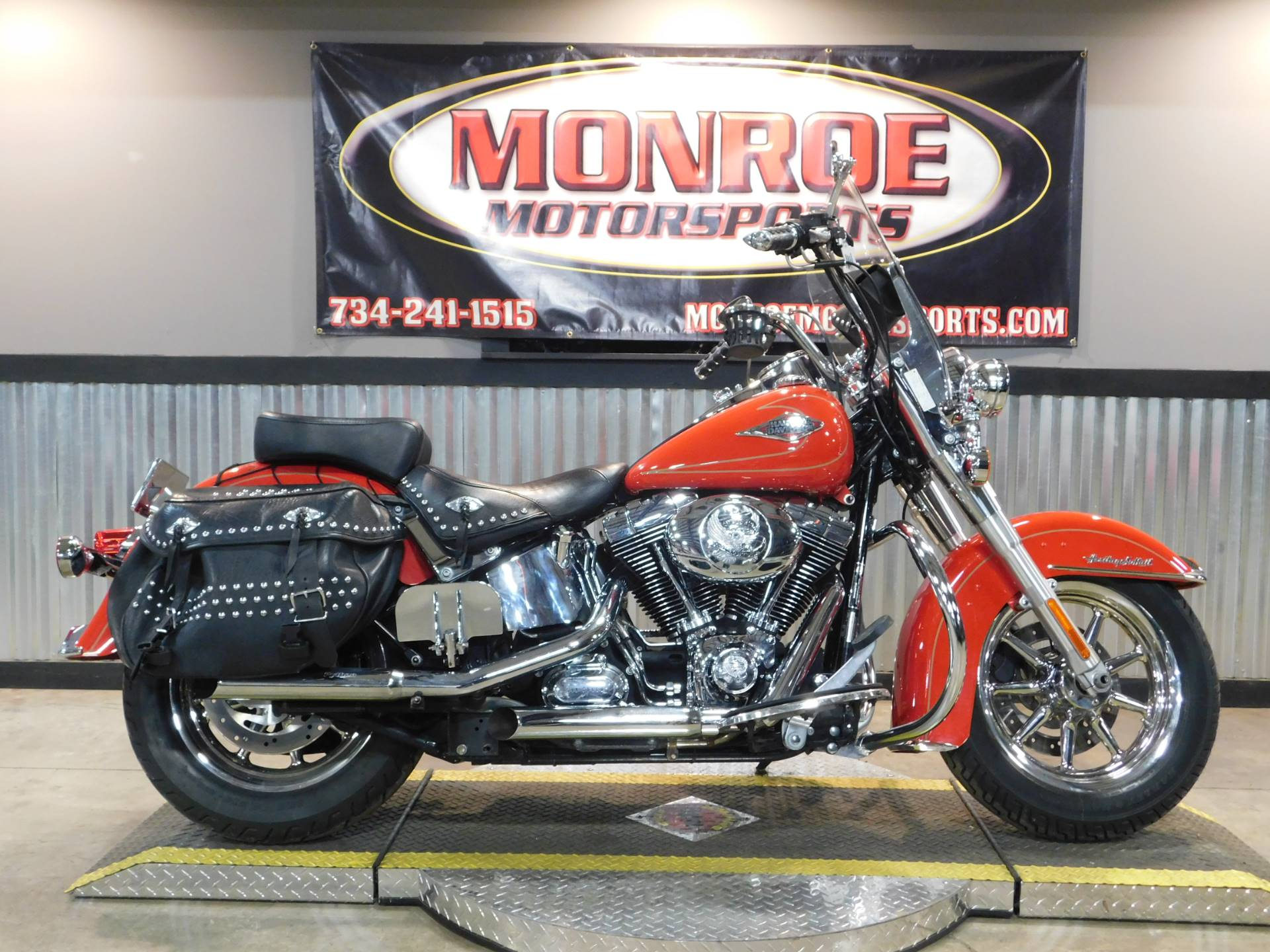2010 Harley-Davidson Heritage Softail® Classic in Monroe, Michigan - Photo 1