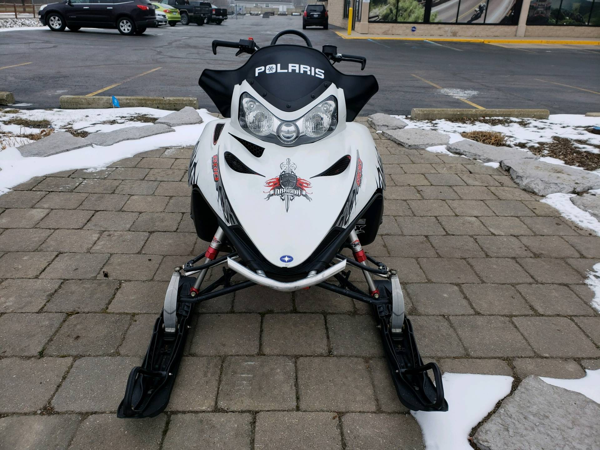 2009 Polaris 800 Dragon RMK 155 3