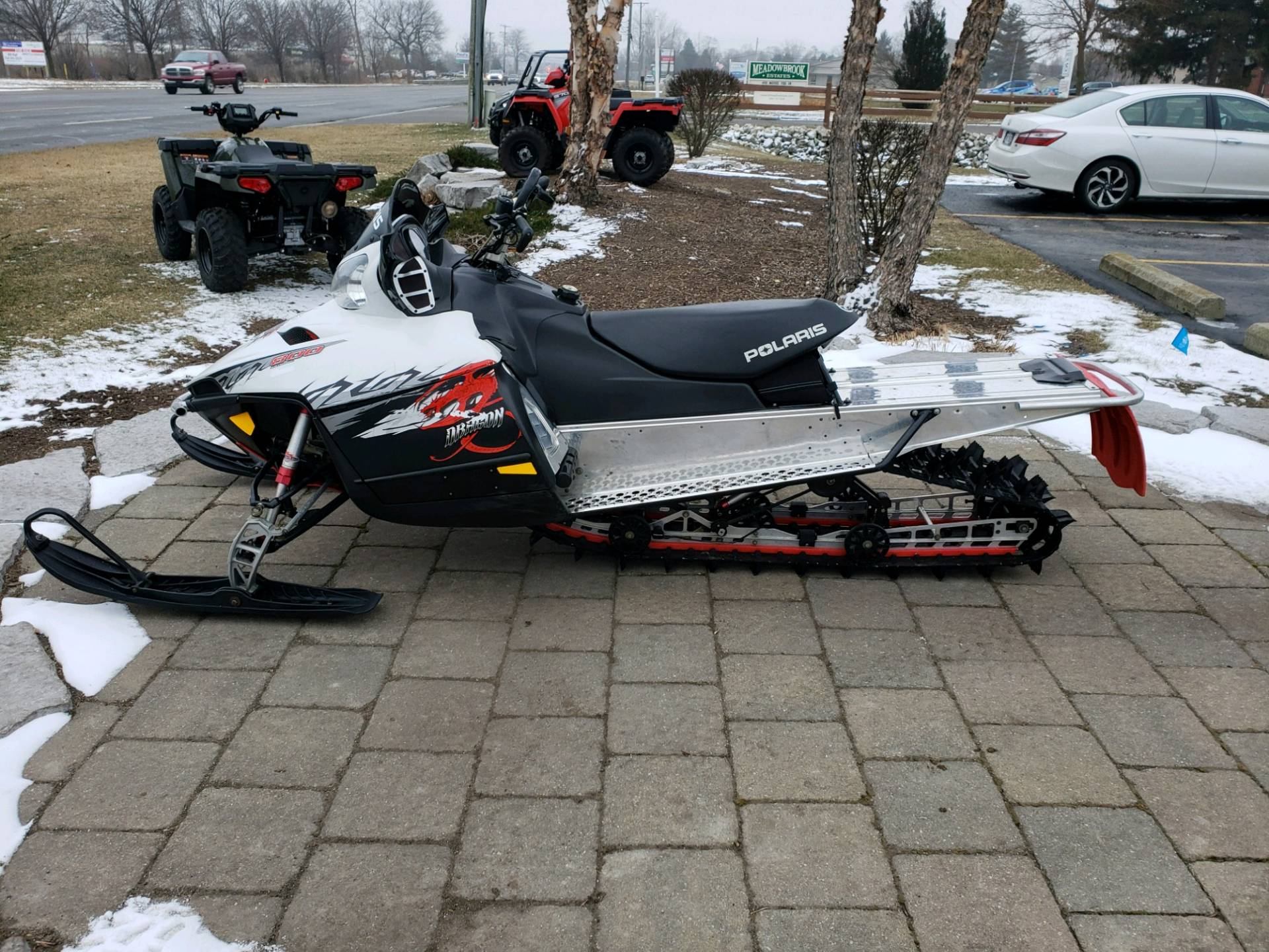 2009 Polaris 800 Dragon RMK 155 4