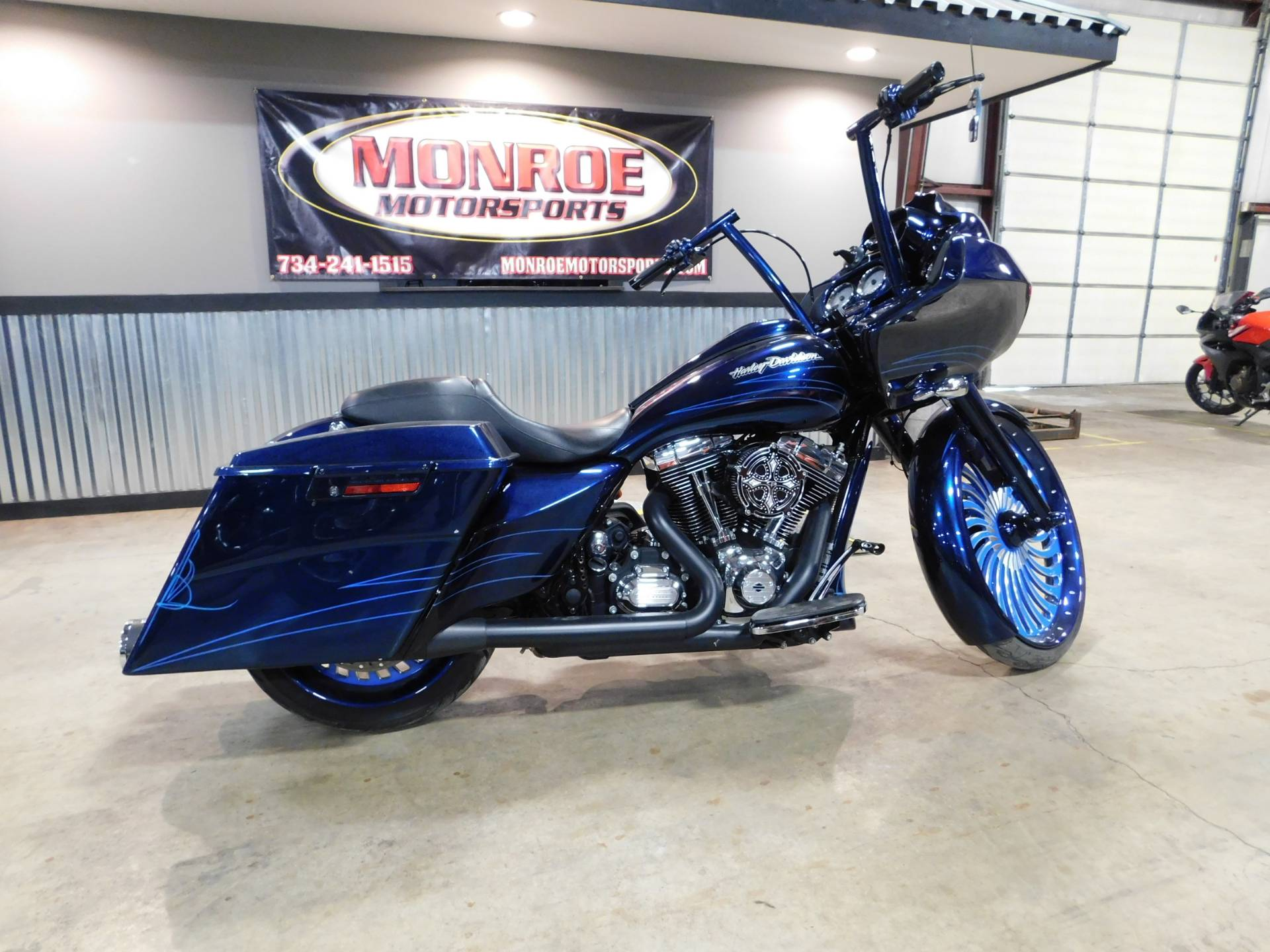 Harley Davidson Michigan >> 2013 Harley Davidson Road Glide Custom In Monroe Michigan