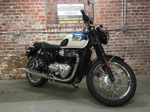 2017 Triumph Bonneville T100 in Greensboro, North Carolina