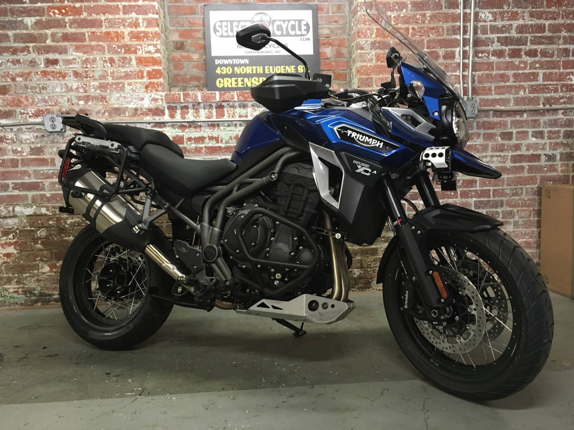2017 Triumph Tiger Explorer XCA in Greensboro, North Carolina