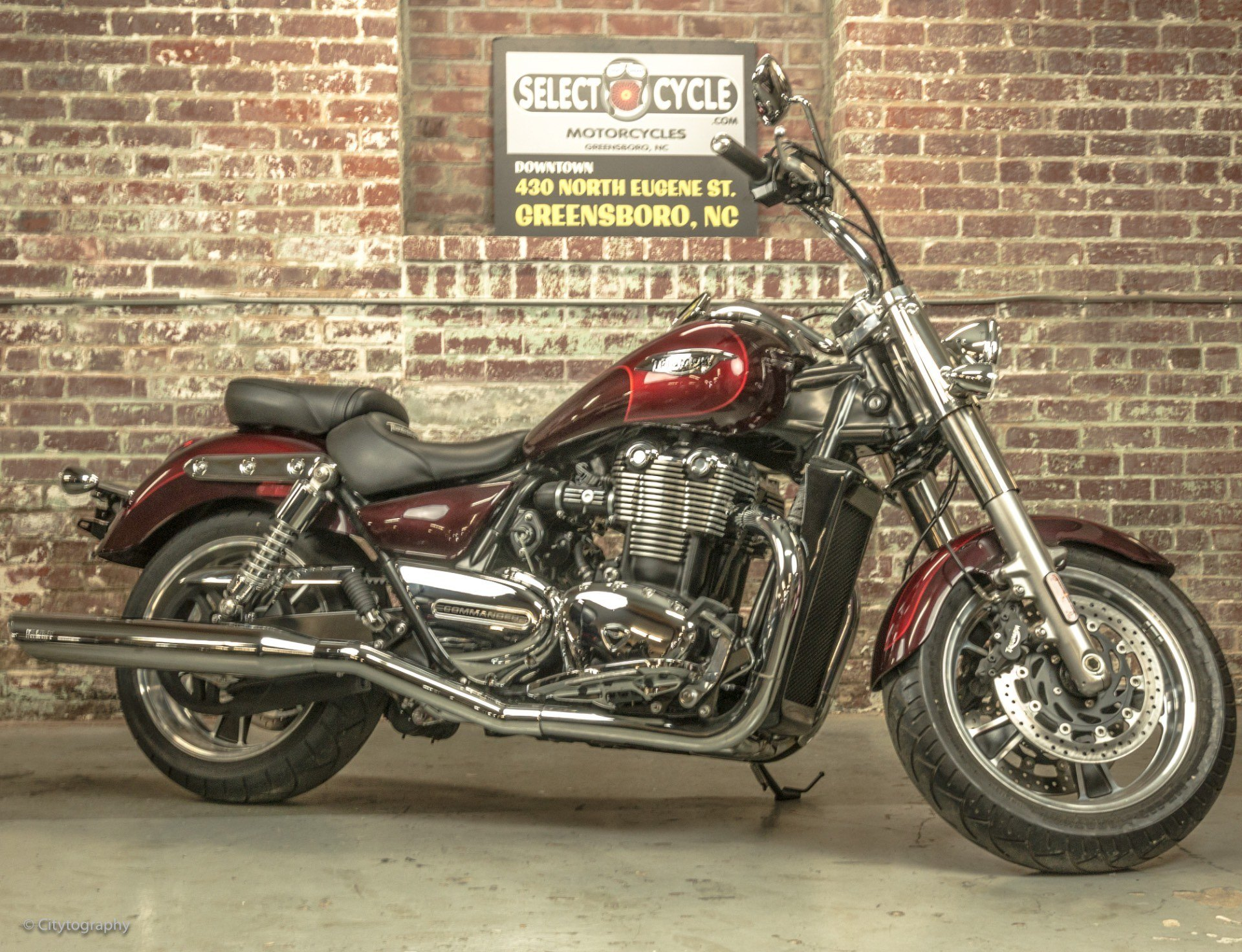 2015 Triumph Thunderbird Commander ABS in Greensboro, North Carolina