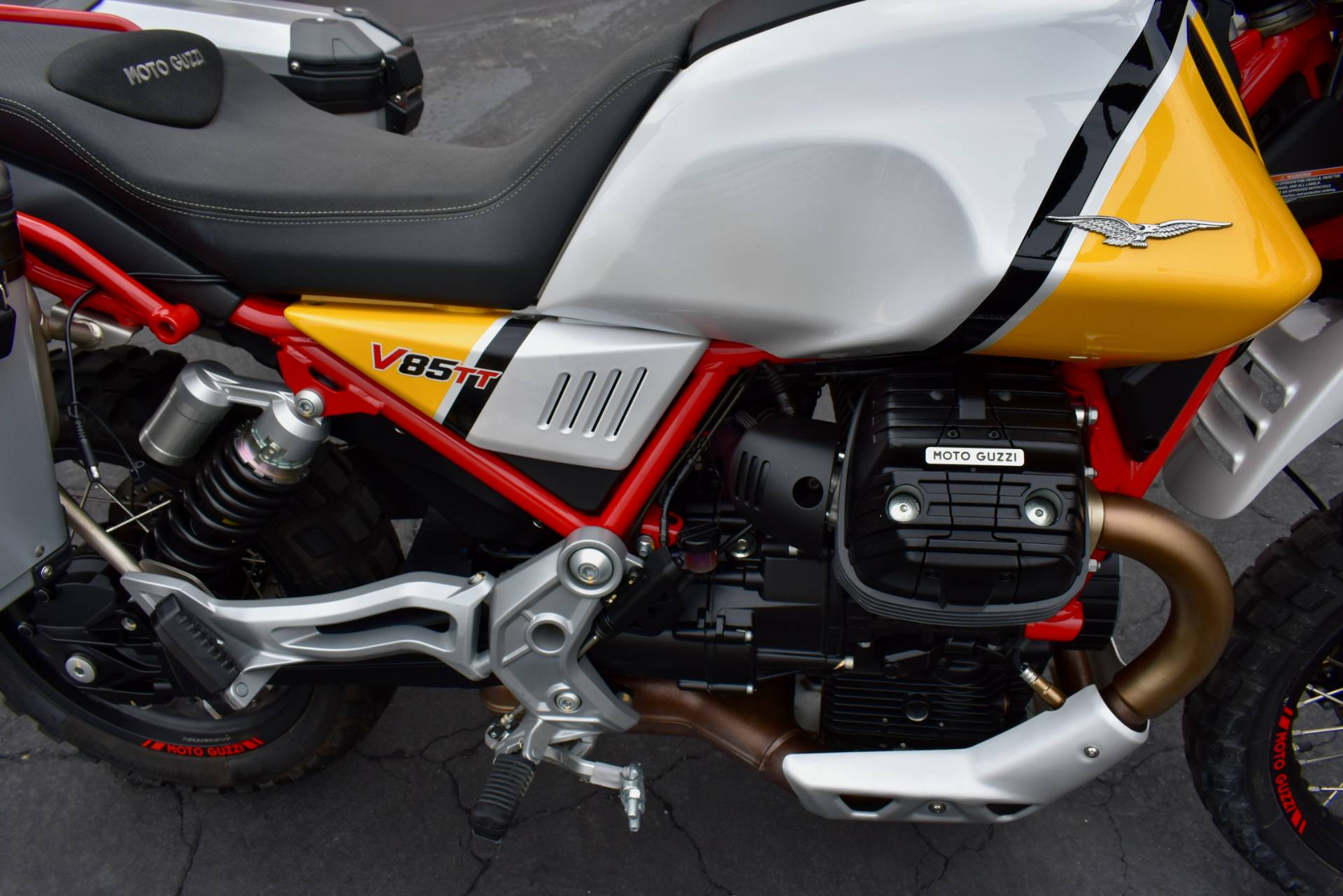 2020 Moto Guzzi V85 TT Adventure in Greensboro, North Carolina - Photo 7