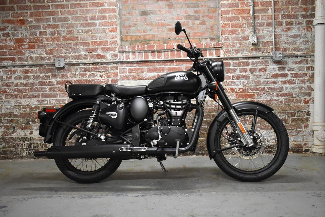 2018 Royal Enfield Classic Stealth Black ABS in Greensboro, North Carolina - Photo 1