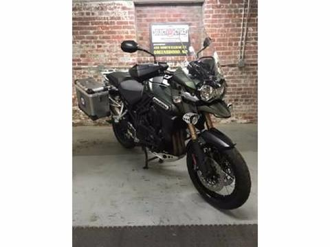 2014 Triumph Tiger Explorer XC ABS in Greensboro, North Carolina