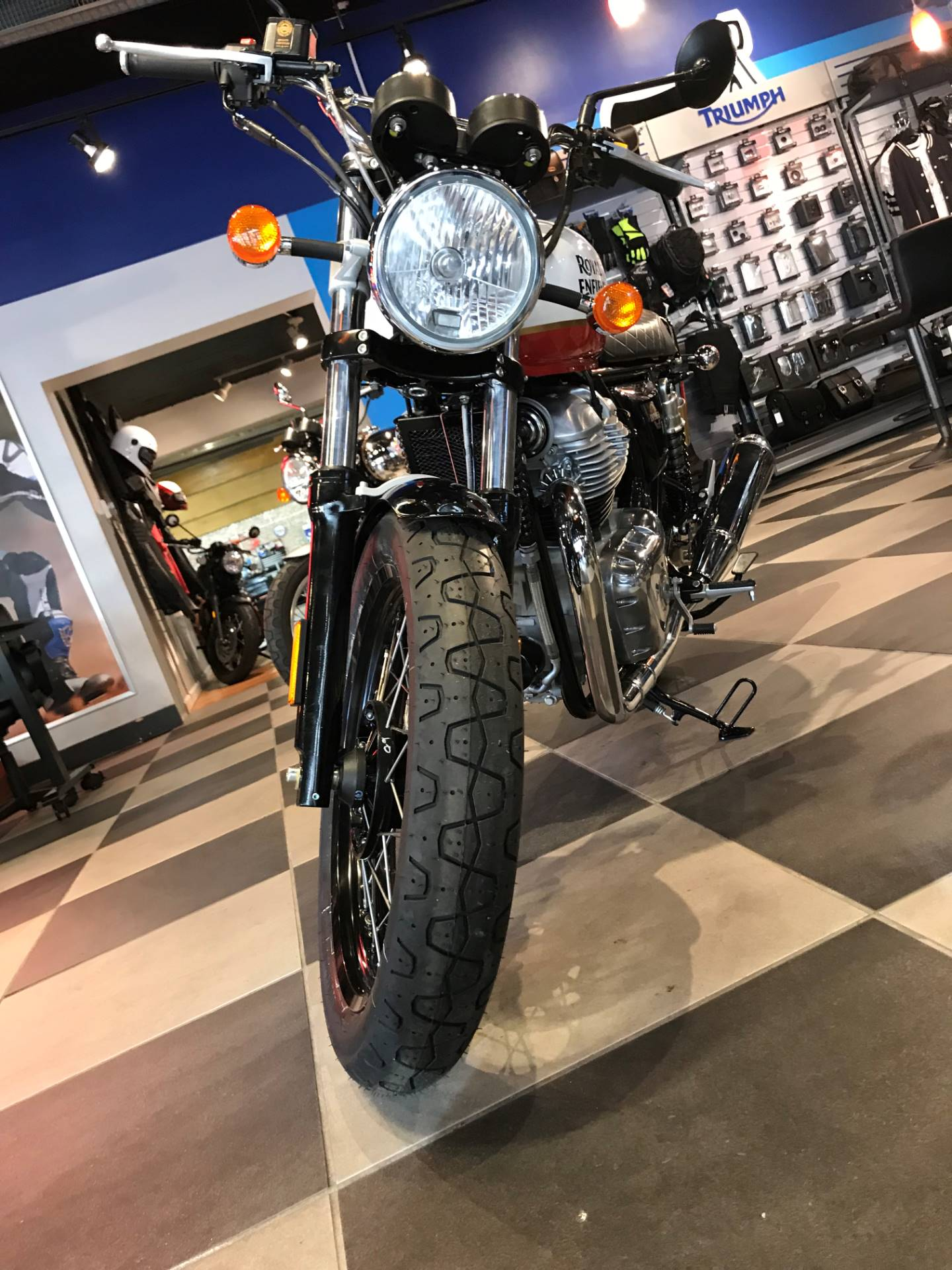2019 Royal Enfield INT650 in Greensboro, North Carolina - Photo 3