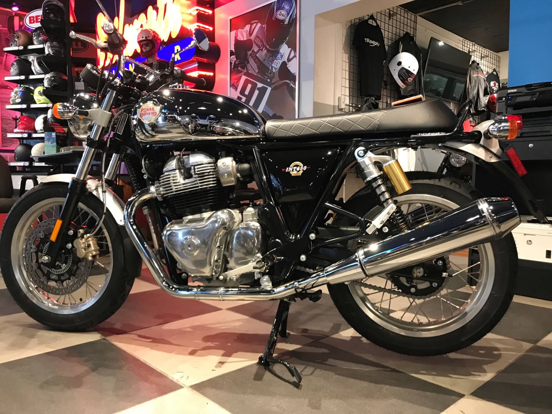 2019 Royal Enfield INT650 in Greensboro, North Carolina - Photo 2