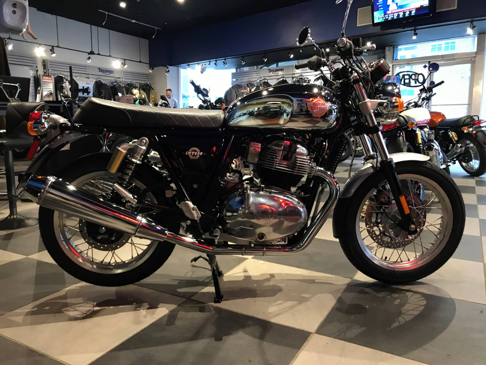 2019 Royal Enfield INT650 in Greensboro, North Carolina - Photo 1