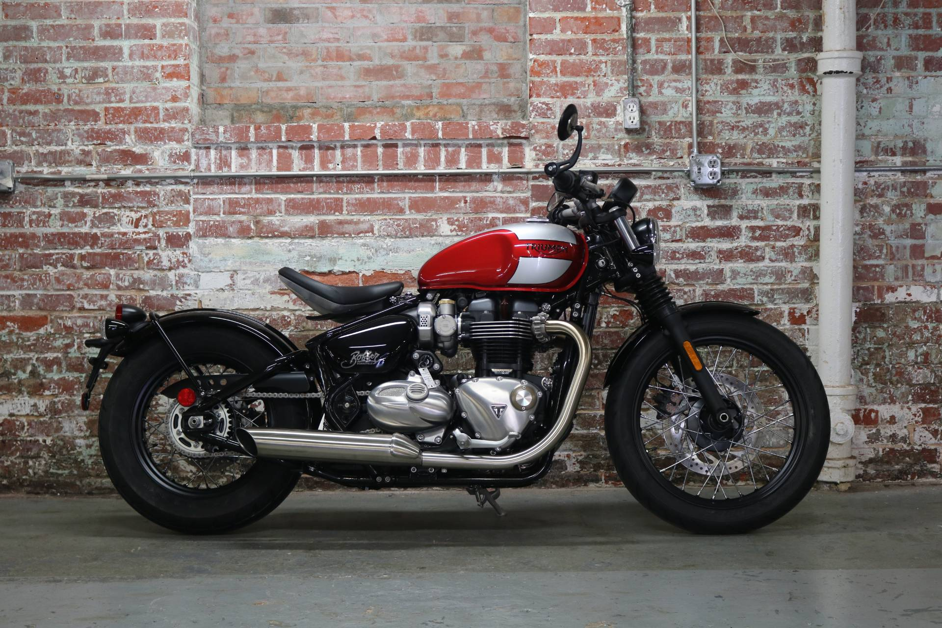 2018 Triumph Bonneville Bobber in Greensboro, North Carolina