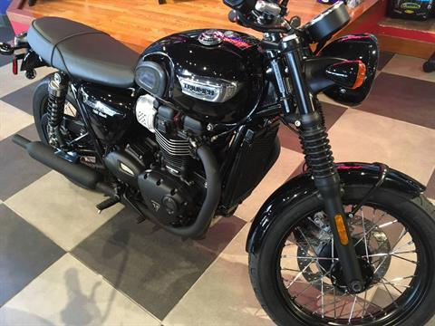 2018 Triumph Bonneville T100 Black in Greensboro, North Carolina