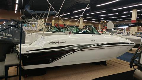 2017 Hurricane SunDeck 187 OB in Lewisville, Texas
