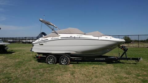 2016 Hurricane SunDeck 2000 OB in Lewisville, Texas