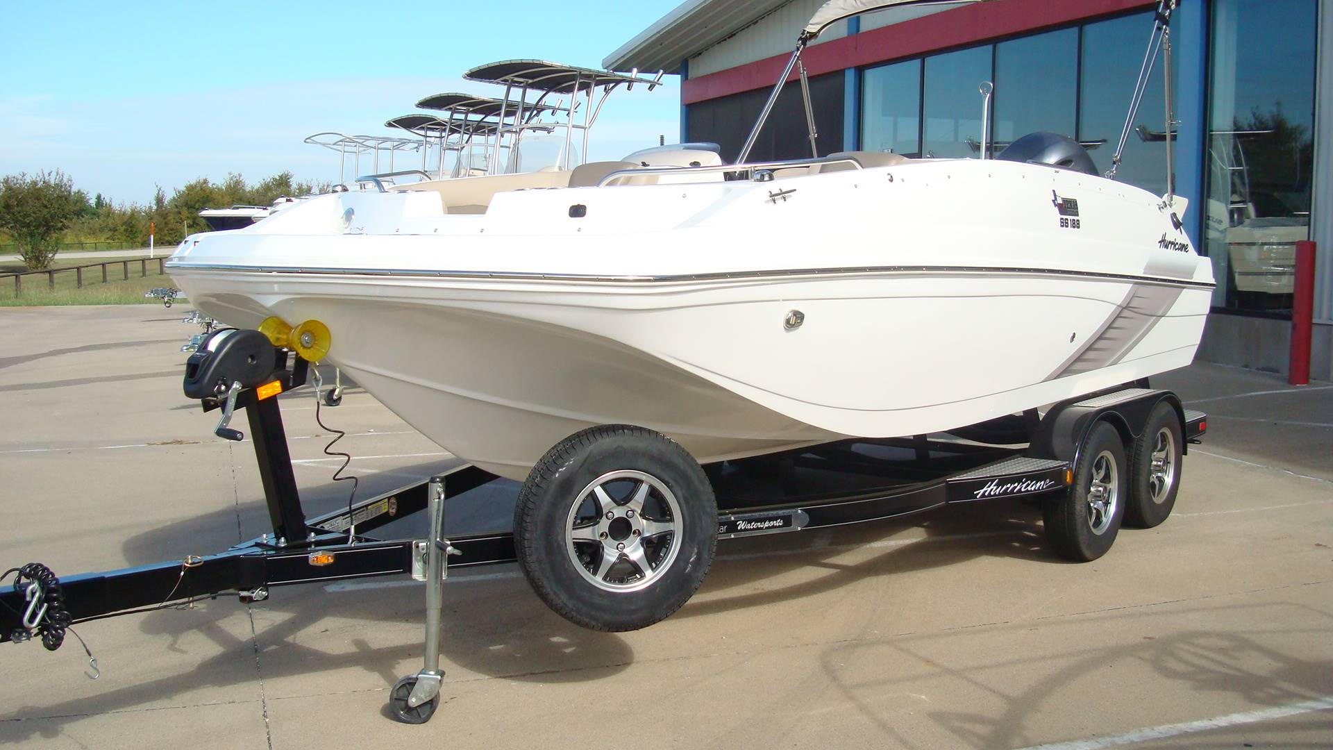 2016 Hurricane SunDeck Sport 188 OB in Lewisville, Texas - Photo 13