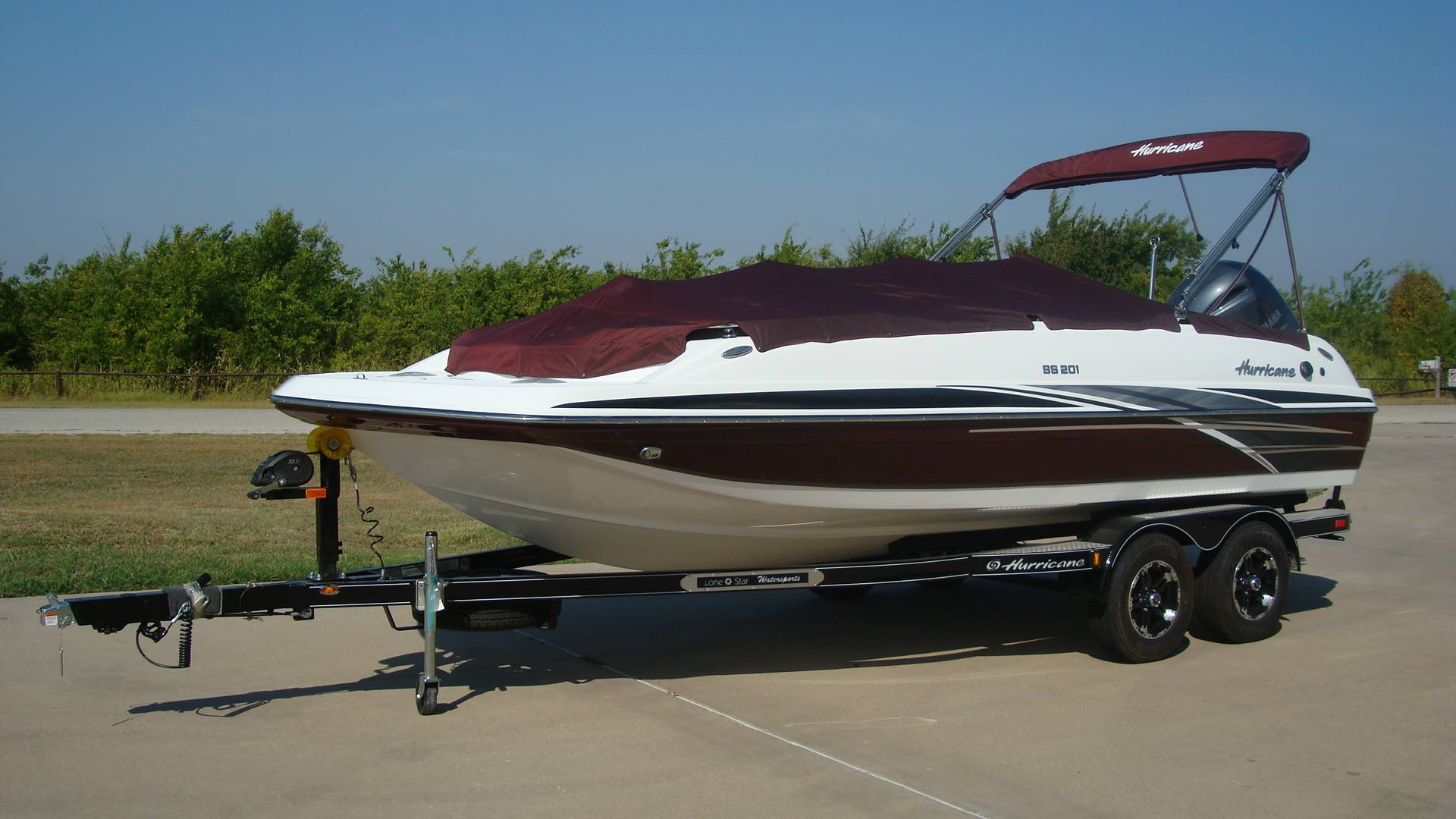 2018 Hurricane SunDeck Sport 201 OB in Lewisville, Texas - Photo 1