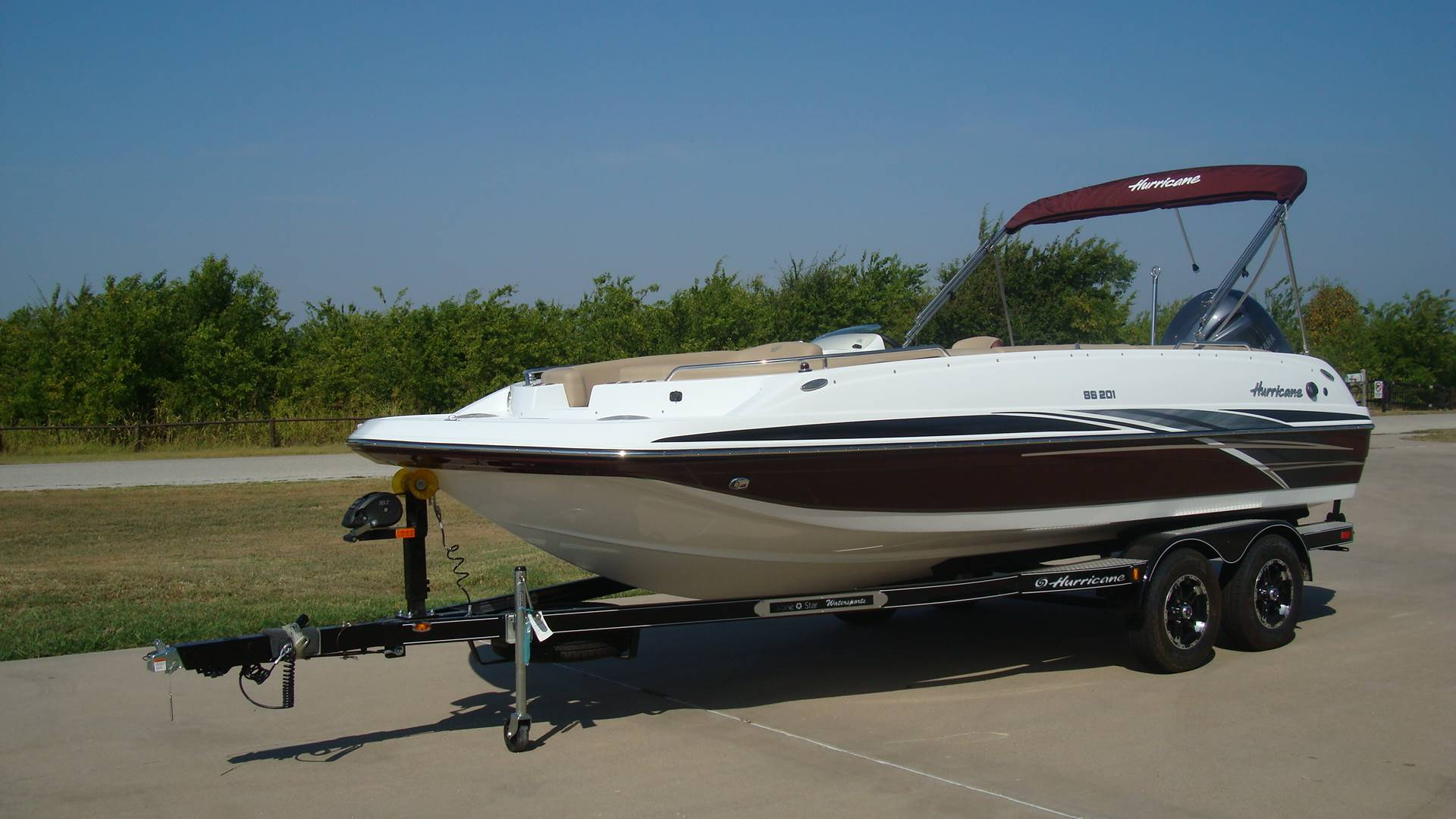 2018 Hurricane SunDeck Sport 201 OB in Lewisville, Texas - Photo 3