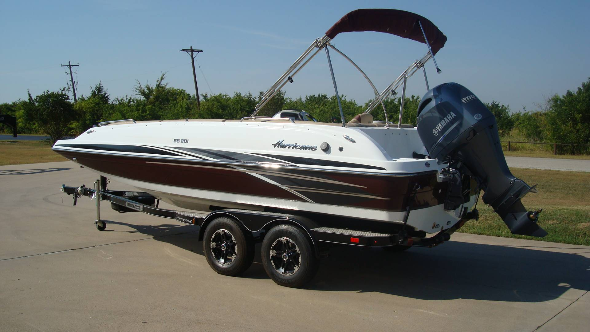 2018 Hurricane SunDeck Sport 201 OB in Lewisville, Texas - Photo 5
