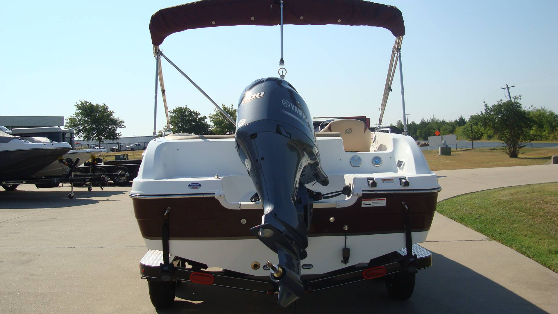 2018 Hurricane SunDeck Sport 201 OB in Lewisville, Texas - Photo 7