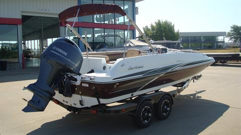 2018 Hurricane SunDeck Sport 201 OB in Lewisville, Texas - Photo 9