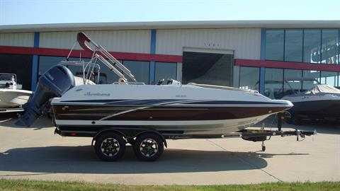 2018 Hurricane SunDeck Sport 201 OB in Lewisville, Texas - Photo 10